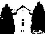 Logo de la maison mirabeau avec couleurs inversées
