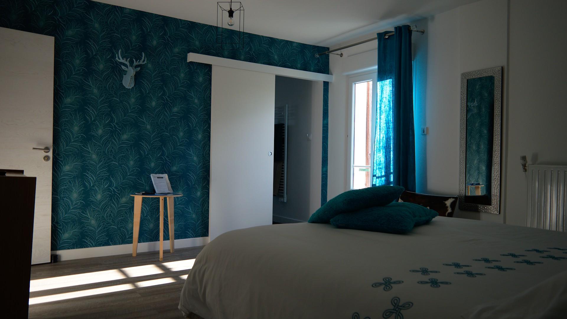 Chambre 18 depuis le lit
