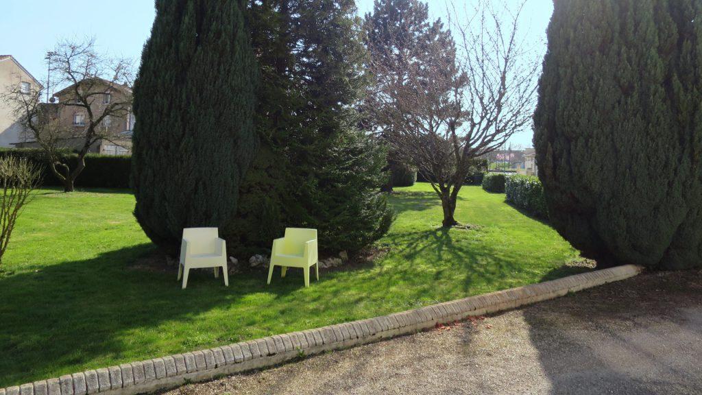 Le jardin de la maison Mirabeau